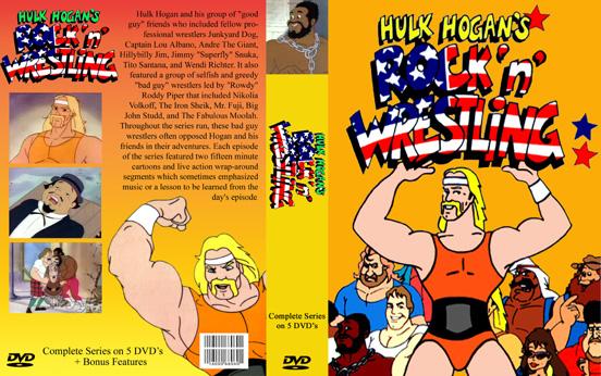 hulk hogan cartoon dvd